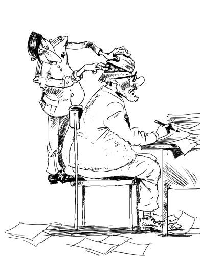 Рисунок Ибрагима КУБЕКОВА