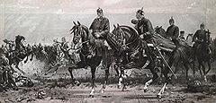 Пока Вильгельм Штибер трудился на невидимом фронте, войска Бисмарка имели зримое преимущество Фото: AKG/East News